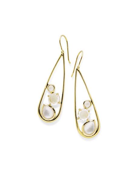 18K Rock Candy Drop Dangle Earrings in Flirt