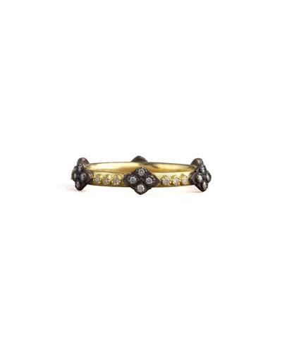 Crivelli Cross Diamond Ring, Gold
