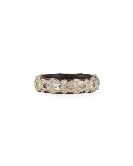 Armenta New World Lacy Eternity Stacking Ring