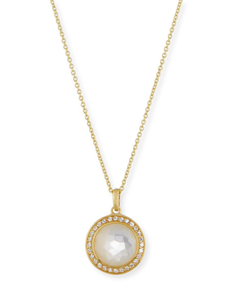 Ippolita 18k Gold Rock Candy Mini Lollipop Diamond