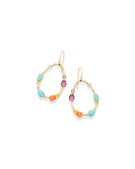 Ippolita 18K Rock Candy® Medium Frame Earrings in