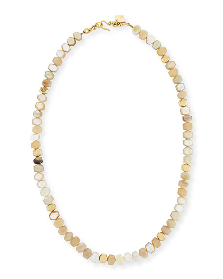 Umri Beaded Horn Necklace