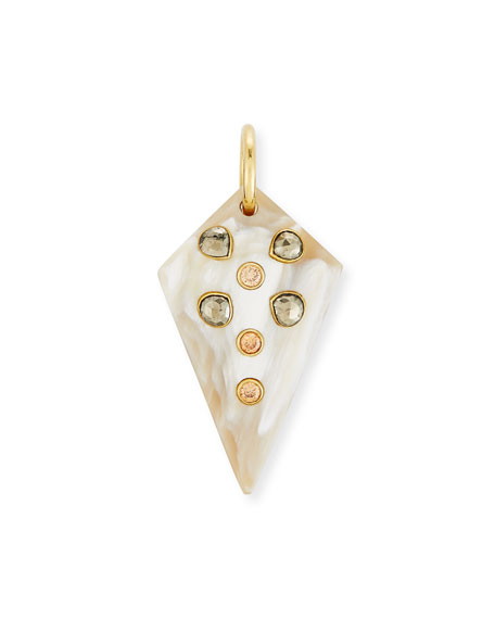Ashley Pittman Mhindi Light Horn Pendant