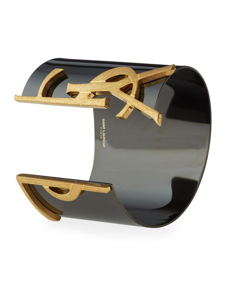 Monogram Split Cuff Bracelet