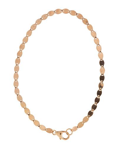Bond 14K Flat Link Chain Bracelet
