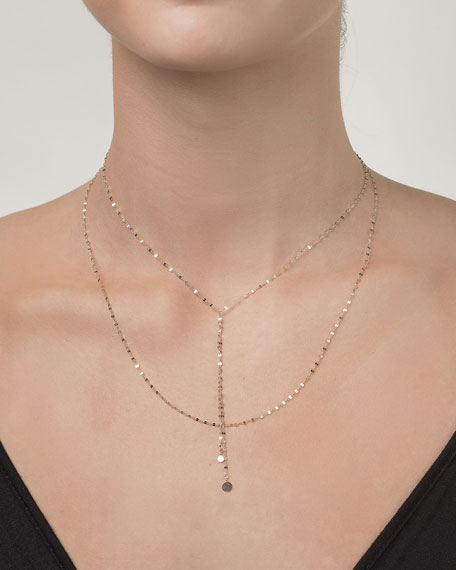Petite Blake Layered Necklace in 14K Gold