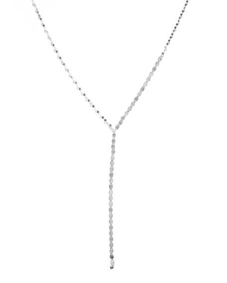 Nude Lariat Disc Necklace