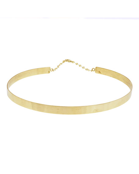 LANA Gloss 14K Gold Choker Necklace