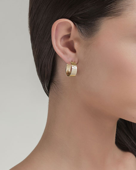 Small Vanity 14K Hoop Earrings