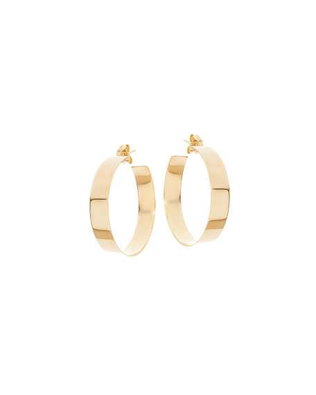 Lana MEDIUM VANITY 14K HOOP EARRINGS