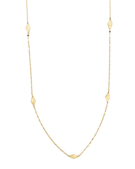 """Ombre Kite Necklace, 20"""""""