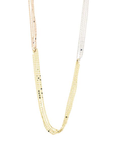 Mega Tri-Tone Nude Necklace