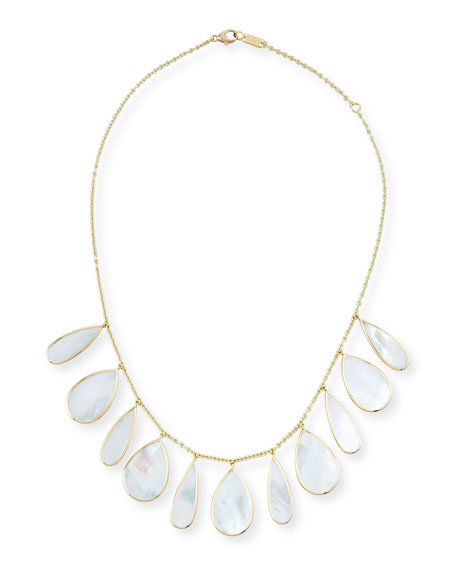 Ippolita 18K Polished Rock Candy Pear Necklace in