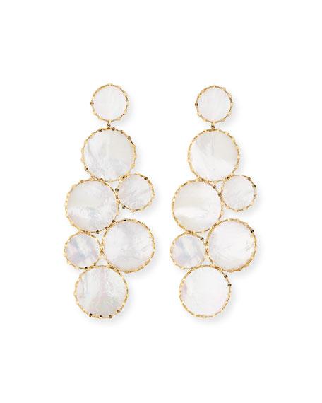 Lana Mega Ibiza Mother-of-Pearl Earrings