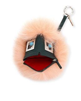 Charm Bug Bags Zip Key Chain