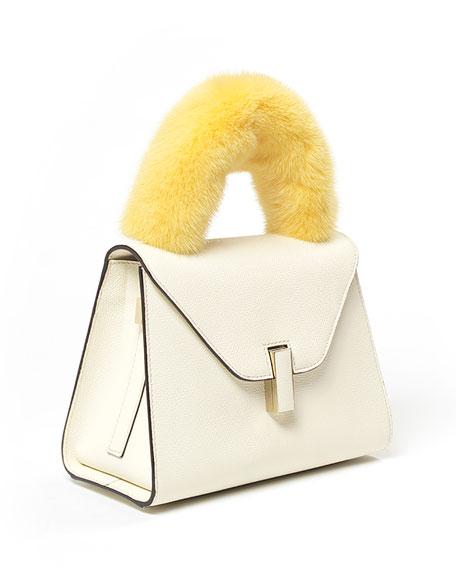 Iside Mink Fur Handle Cover for Handbag