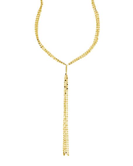 Nude Multi Lariat Necklace