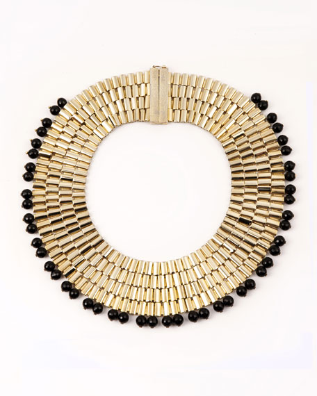 Rosantica Cleopatra Beaded Collar Necklace