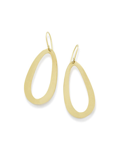 18K Cherish Medium Drop Earrings