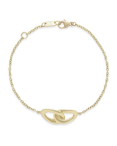 Cherish 18K Yellow Gold Link Bracelet
