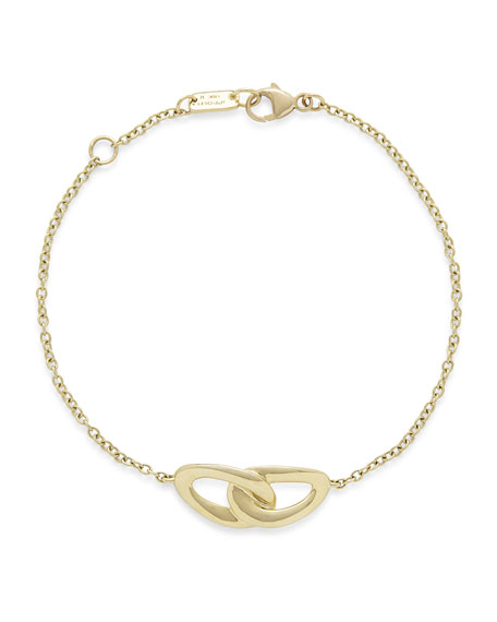 Cherish 18K Yellow Gold Link Bracelet
