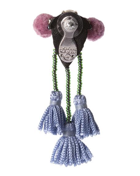 Meredith Beaded Tassel Earrings