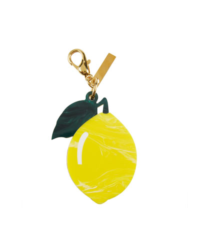 Lemon Bag Charm