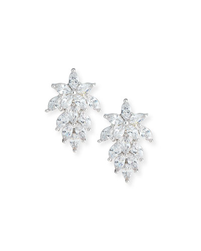 Monarch Mini Cluster Crystal Earrings