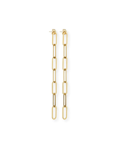 McKenna Chunky Chain Hanging Earrings