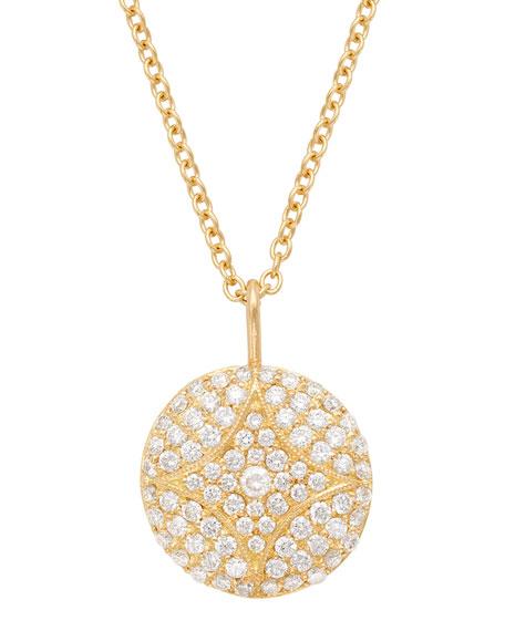Aladdin Pave Diamond Pendant Necklace