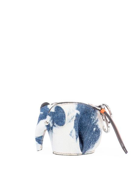 Elephant Tie-Dye Charm/Coin Purse