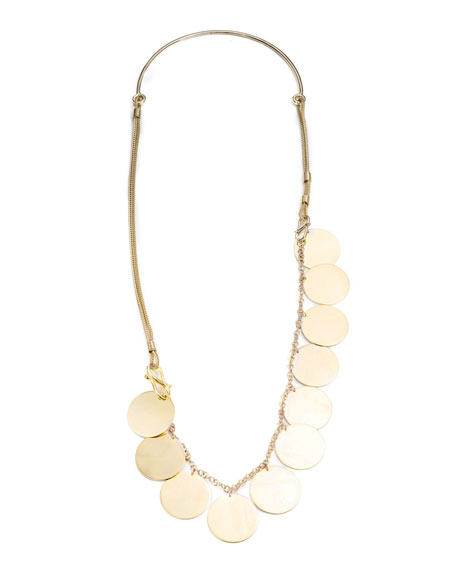 Eddie Borgo Ios Coin Necklace