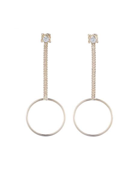 Yandal Crystal Statement Earrings