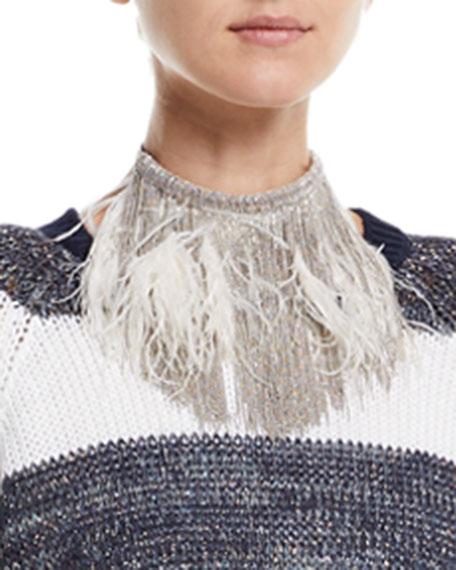 """15"""" Waterfall Choker Necklace"""