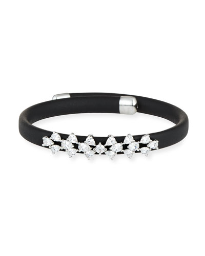 Monarch Leather Snap Bracelet