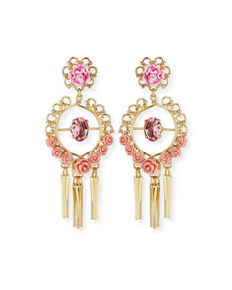 Samara Golden Statement Earrings