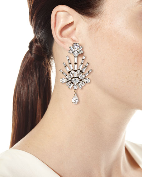 Lilith Crystal Statement Earrings