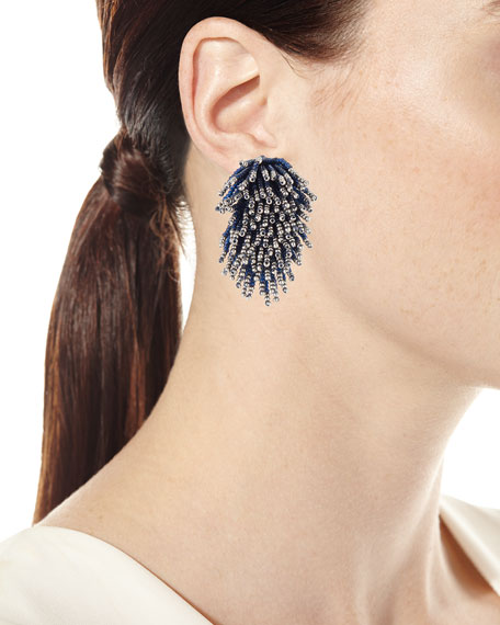 Liza Beaded Statement Earrings