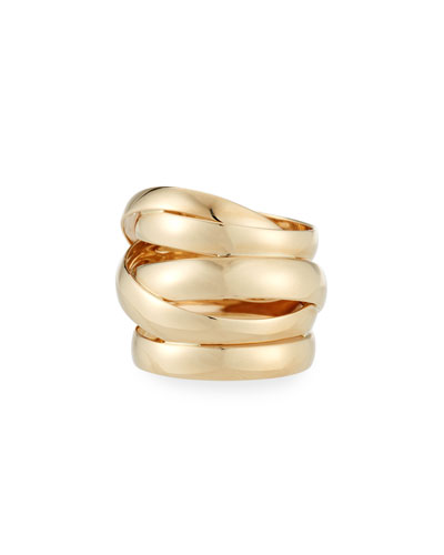 Bubble Ring in 14K Yellow Gold