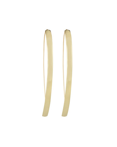 14k Hooked on Curve Hoop Earrings