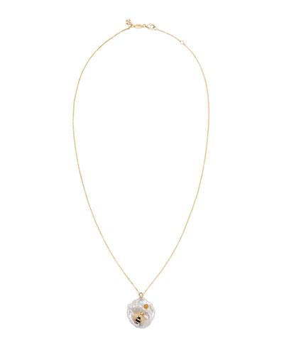Bee My Honey Pendant Necklace