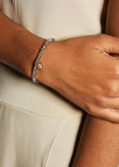 Sapphire & Turquoise Evil Eye Chain Bracelet