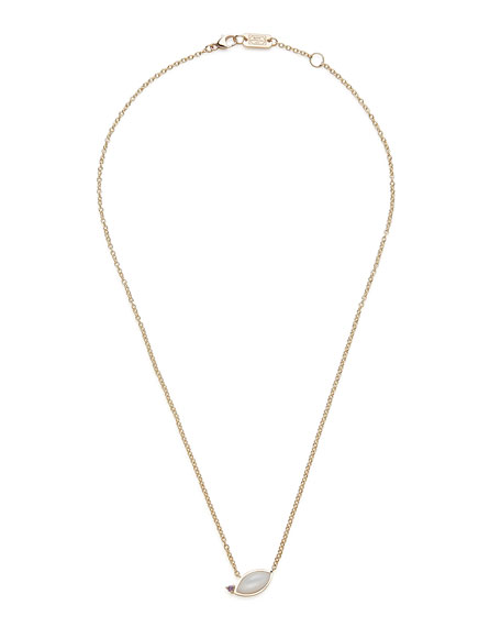 Ippolita Prisma Angled Marquis Necklace in Mother-of-Pearl