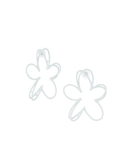 Botanical Scribble Earrings