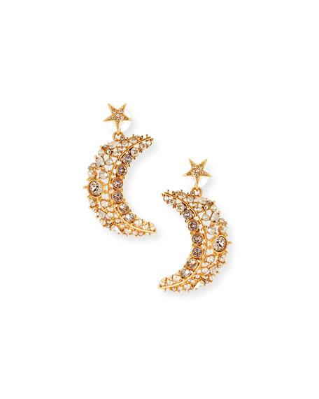 Celestial Swarovski Crystal Drop Earrings