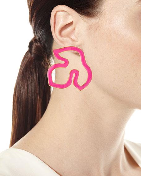 Foliage Silhouette Earrings