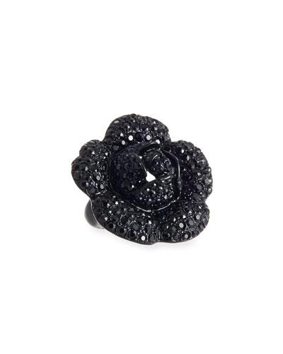 Gardenia Pavé Swarovski Crystal Ring