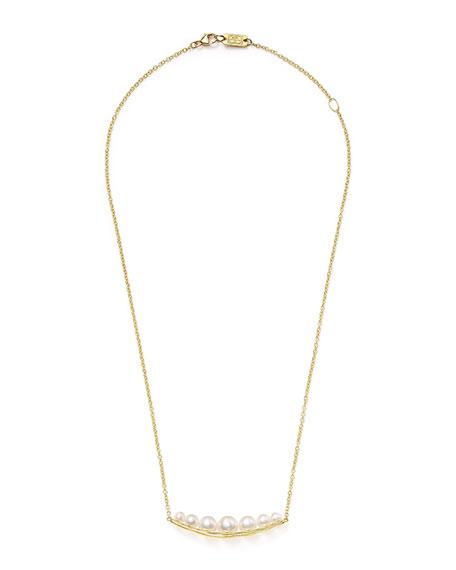 Ippolita 18k Nova Smile-Bar Pendant Necklace