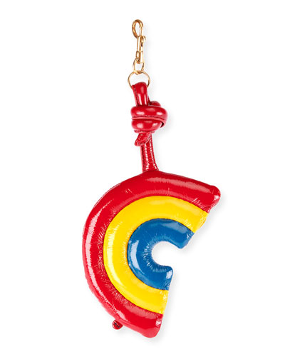 Leather Chubby Rainbow Charm