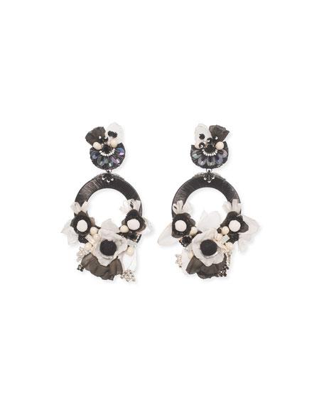 Jarita Clip-On Statement Earrings